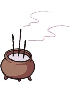 お線香の燃焼灰の再利用 エコでオススメな用途とは